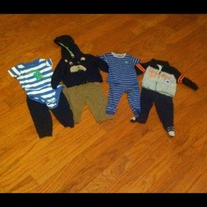 Carter's outfits and pjs